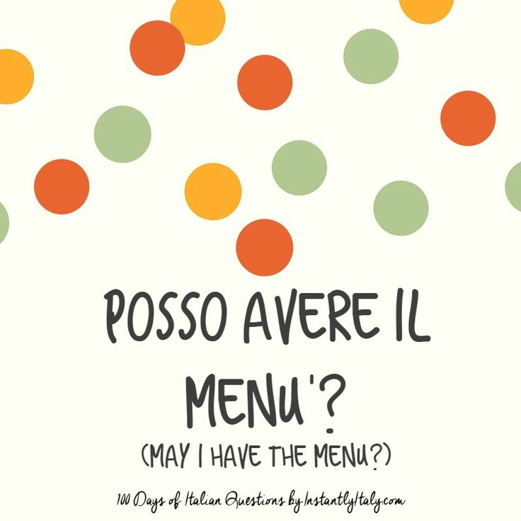 37/100 - 100 Days of Italian Questions on Instagram