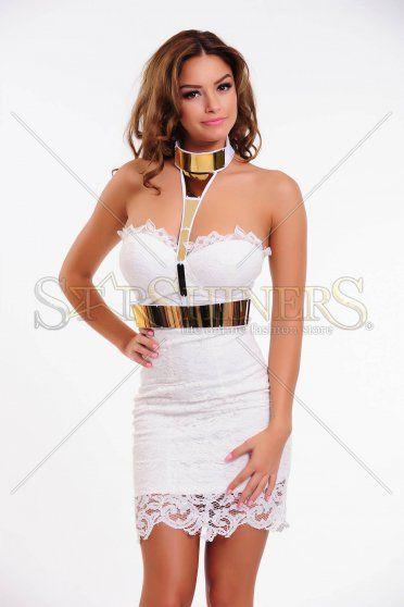 Rochie Mexton Female Desire White