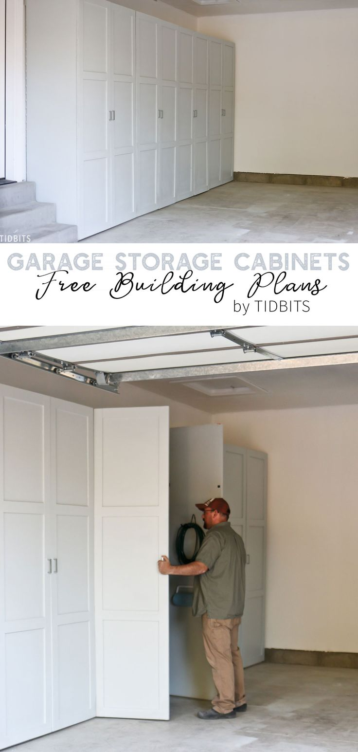 Cabinet Plans Think the outside of these garage storage cabinets look great? Wait until you se...