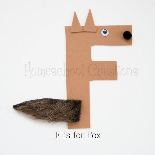 Alphabet book letter f