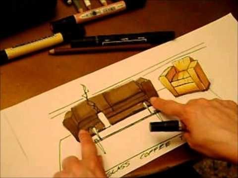 Rendering Leather and Glass. Ilustrando Piel y Cristal