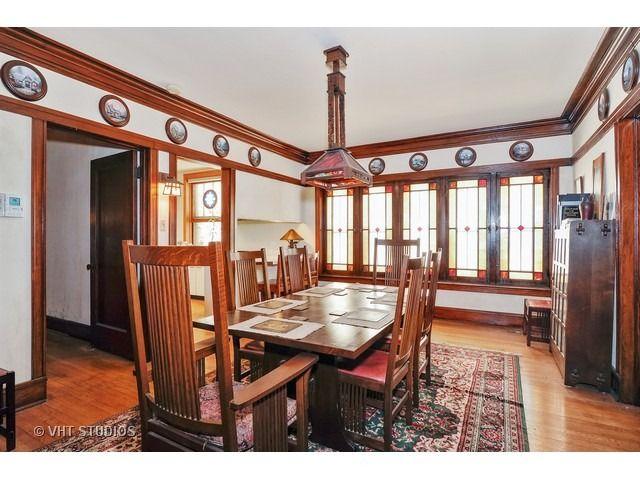 1404 West Jarvis Avenue Chicago IL CraftsmanDining RoomsChicago
