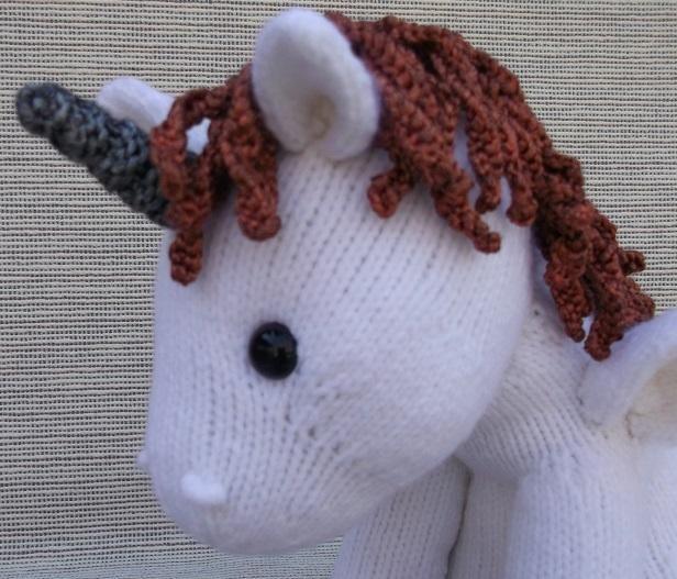 Free Unicorn Knitting Pattern : Best images about amy s knitting pattern board on