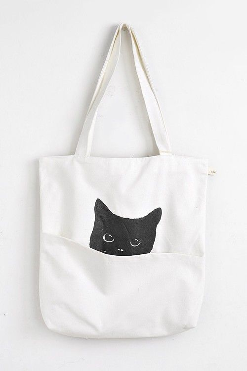 Cat Shopper Tote | Brave Store