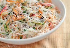 Salada de Macarrão de Arroz ~ PANELATERAPIA - Blog de Culinária, Gastronomia e Receitas