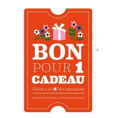 Carte postale Bon pour 1 cadeau [Fifi Mandirac]