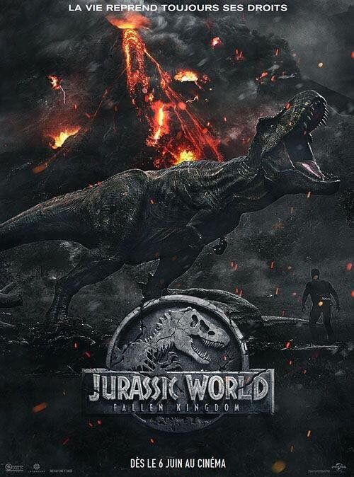 Jurassic World: Fallen Kingdom French Poster Translated | Movies in