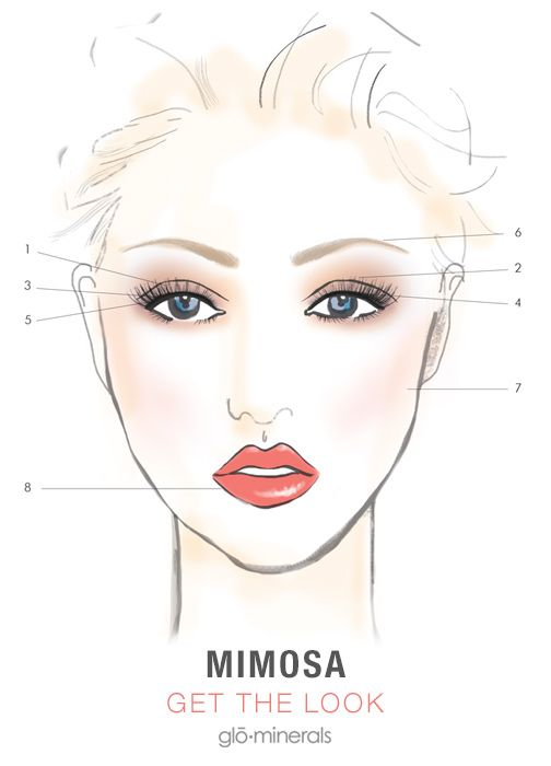glo How-To: Summer Look Featuring Mimosa