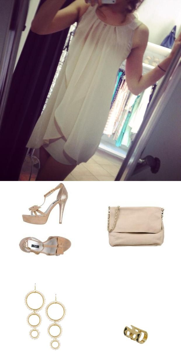 #frjda sandals and #nardelli bag are a perfect touch for this #romantic summer evening outfit