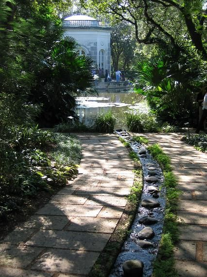 112 best garden walkways steps and retaining walls images for Virtual koi fish pond