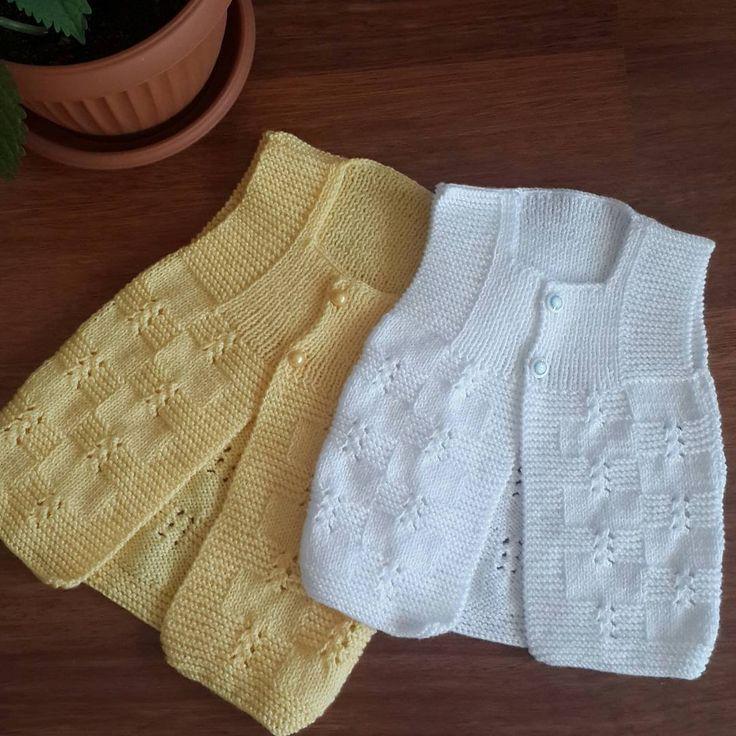 """332 Beğenme, 9 Yorum - Instagram'da örgülerim (@elaydi_knitting): """"#örgulerim #bebek #yelek #elemegi #ör #Örgü #göznuru #elişi #bebekörgülerim #kızbebek #ip #örgüm…"""""""