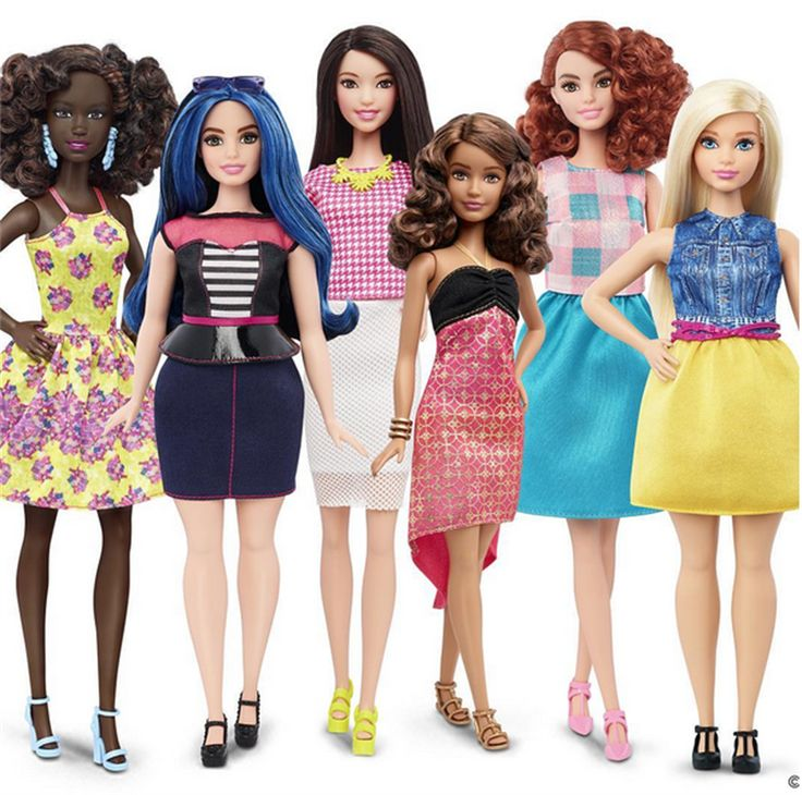 New Barbies (2016 bodies)