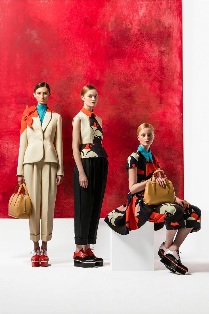 Delpozo Pre-Fall 2016 Fashion Show / El cuadro es espectacular y esta a la venta.