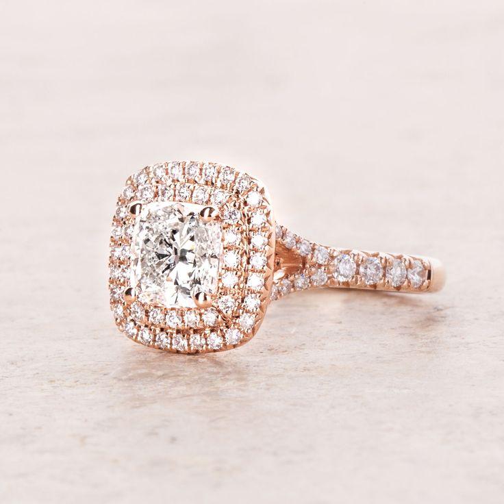 DOUBLE halo as we love it! #double #halo #haloring #ring #diamondring #brilliant #engagement #verlobung #engagementring #carat #wedding #ringsetting #diamondjewelry #diamondjeweler #jewelry #yorxs