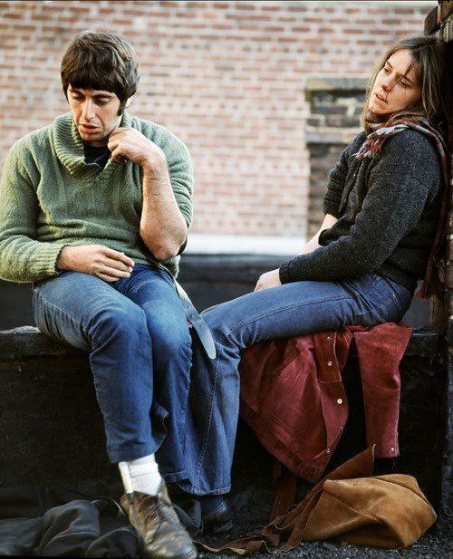Al Pacino and Kitty Winn in Panic In Needle Park