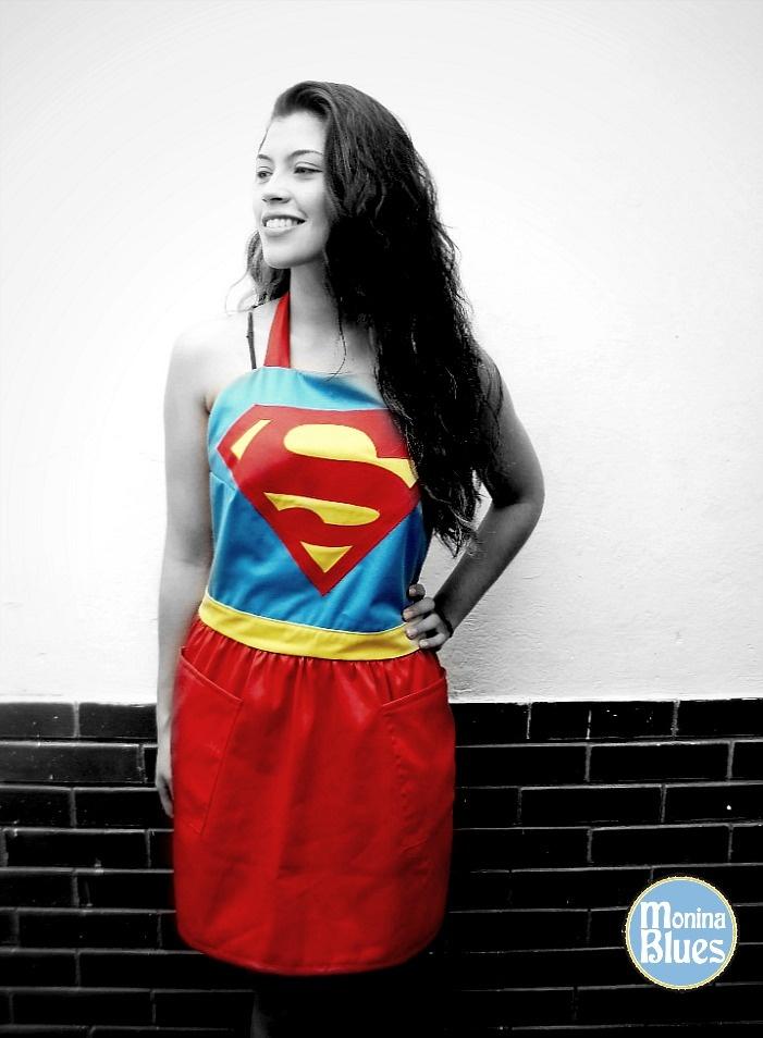 ¡Supergirl! Apron    Kitchen lovers