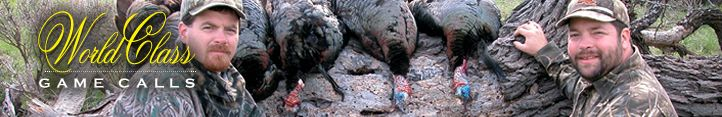 Looks like another successful turkey hunt with a Haydel Turkey Call http://www.haydels.com/pages/turkeycalls.html