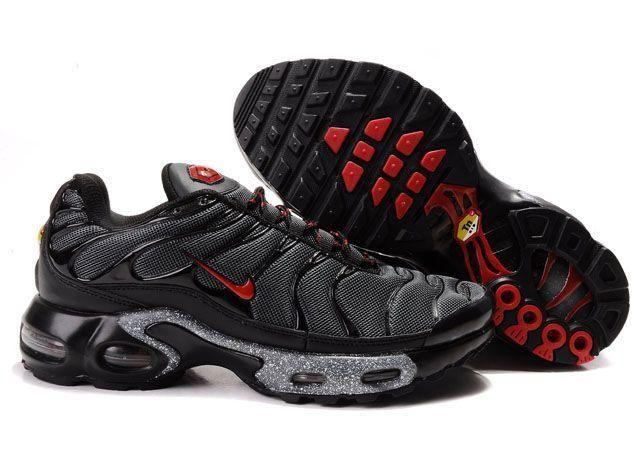 6f8ad10425 ... Nike Air Max 97 Nike Air Max TN Sparkle Black Red [Nike Air Max TN