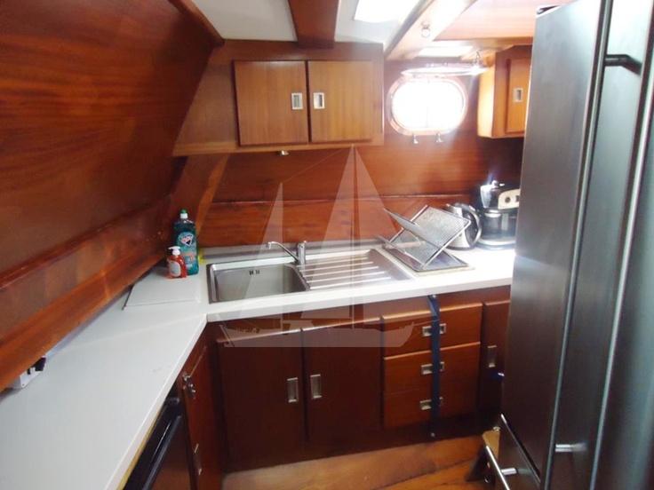 Kitchen of M/S Trippin luxury gulet