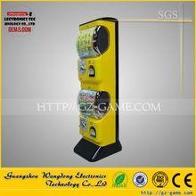 Cheap capsule gashapon vending machine gumball machine, plastic surprise eggs for sale
