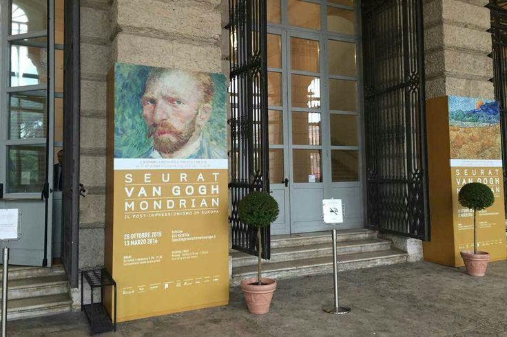 Seurat Van Gogh Mondrian -Verona