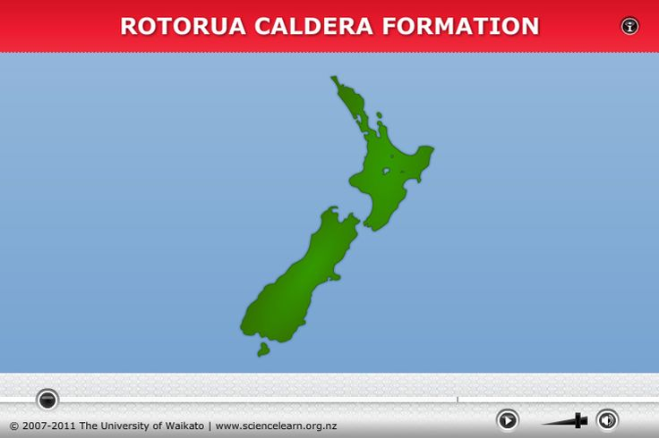 Rotorua caldera formation ANIMATION - Rotorua caldera formation Caldera eruptions leave behind large craters in the Earth – not what we think of when someone says volcano. Watch this animation to see how Lake Rotorua could have formed from a caldera eruption.