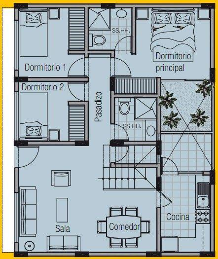 1000 ideas sobre planos de casas de campo en pinterest - Planos de viviendas ...