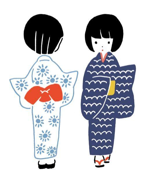Hirasawa Minami 祖母から浴衣をもらいました。