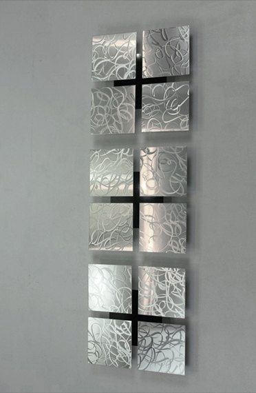 1000 ideias sobre esculturas de metal no pinterest for Adornos pared metal