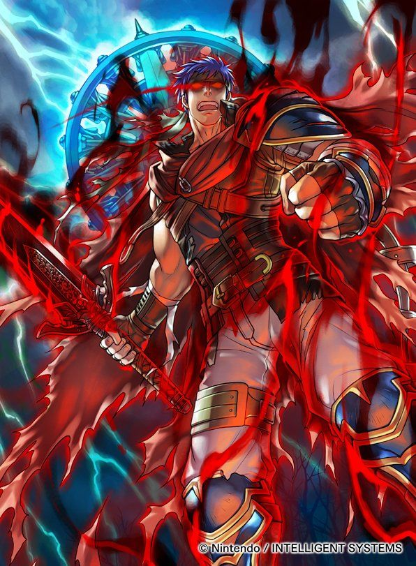 Ike as a Hero, under the influence of Lehran's Medallion