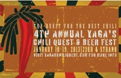 Galveston Island Chili Quest and Beer Fest