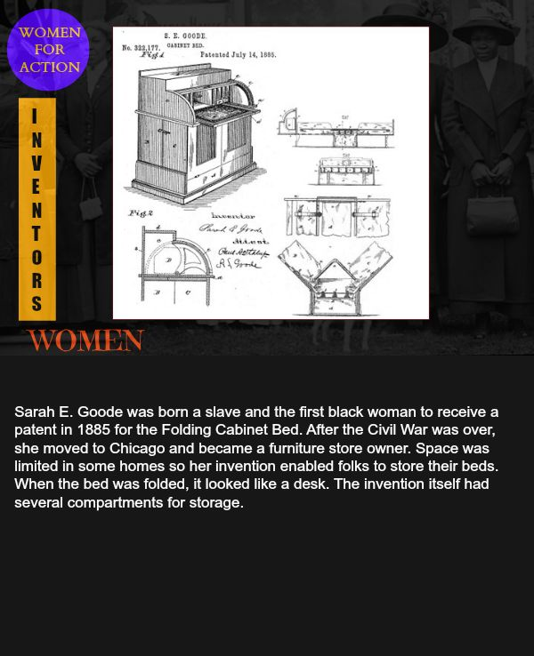 17 Best Images About Black Women Inventions Patents On Pinterest Black History Month
