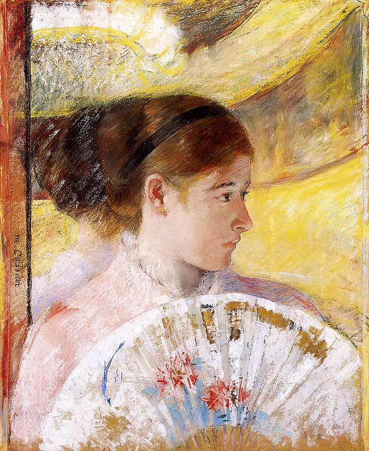 "Cassatt Mary - At Theatre 1878  (from <a href=""http://www.oldpainters.org/picture.php?/51001/category/16491""></a>)"