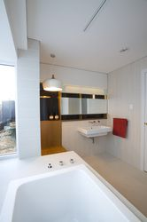 Solomon Street Additions and Alternations - Bathroom. Philip Stejskal Architecture
