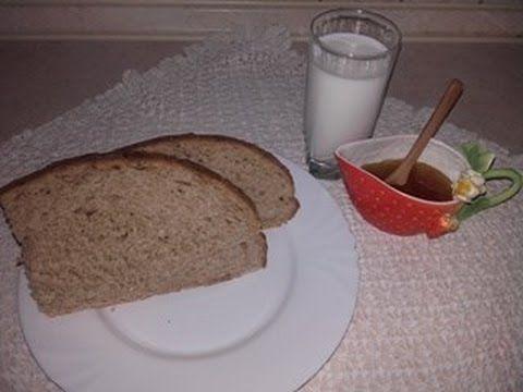 Ψωμί με προζύμι, γάλα και μέλι - YouTube