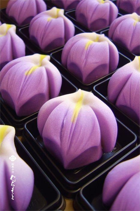 Wagashi Iris 花菖蒲 | Japanese Sweets