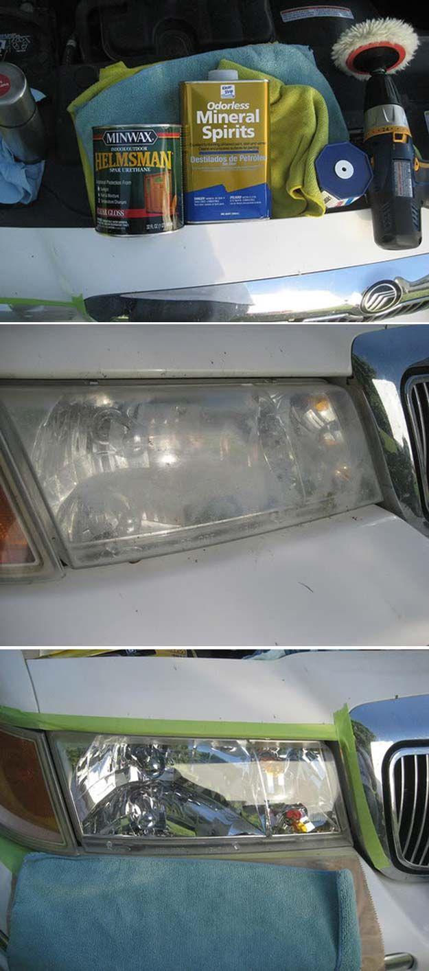 Car interior cleaner diy - How To Restore Car Headlights