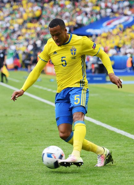 Martin Olsson of Sweden in action during the UEFA EURO 2016 Group E match between Republic of Ireland and Sweden at Stade de France on June 13, 2016 in Paris, France.