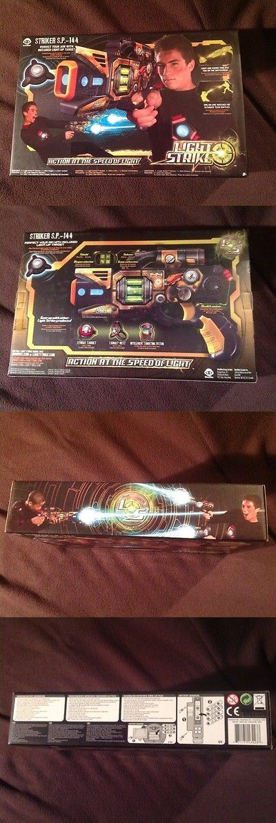 Laser Tag 168245: Wowwee Light Strike Laser Tag Electronic Striker Pistol S.P.- 144 * 2010 * -> BUY IT NOW ONLY: $100 on eBay!