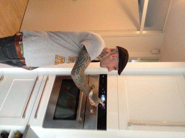 Ook Ben Saunders is fan van MaestroKitchen en heeft er één in zijn eigen keuken geïnstalleerd!