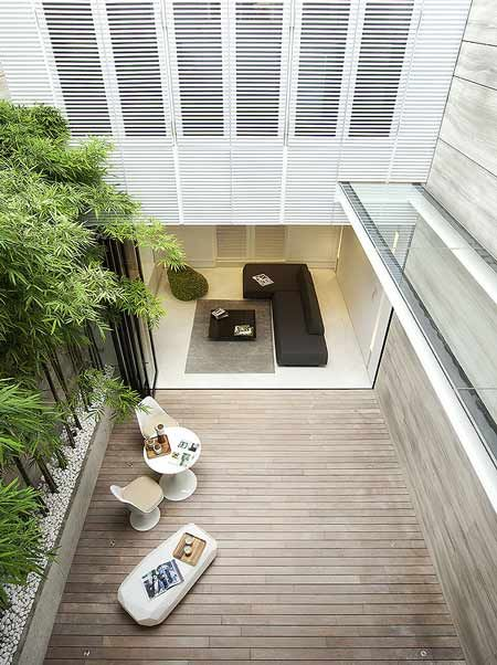 31 Blair Road by ONG - Dezeen // courtyard houses are the best. Don't like the minimalism or styling though.