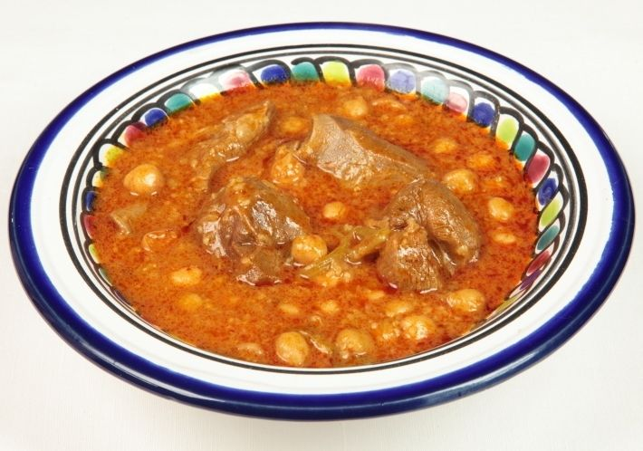 Chorba bel allouch soupe d 39 agneau cuisine tunisienne for Cuisine tunisienne