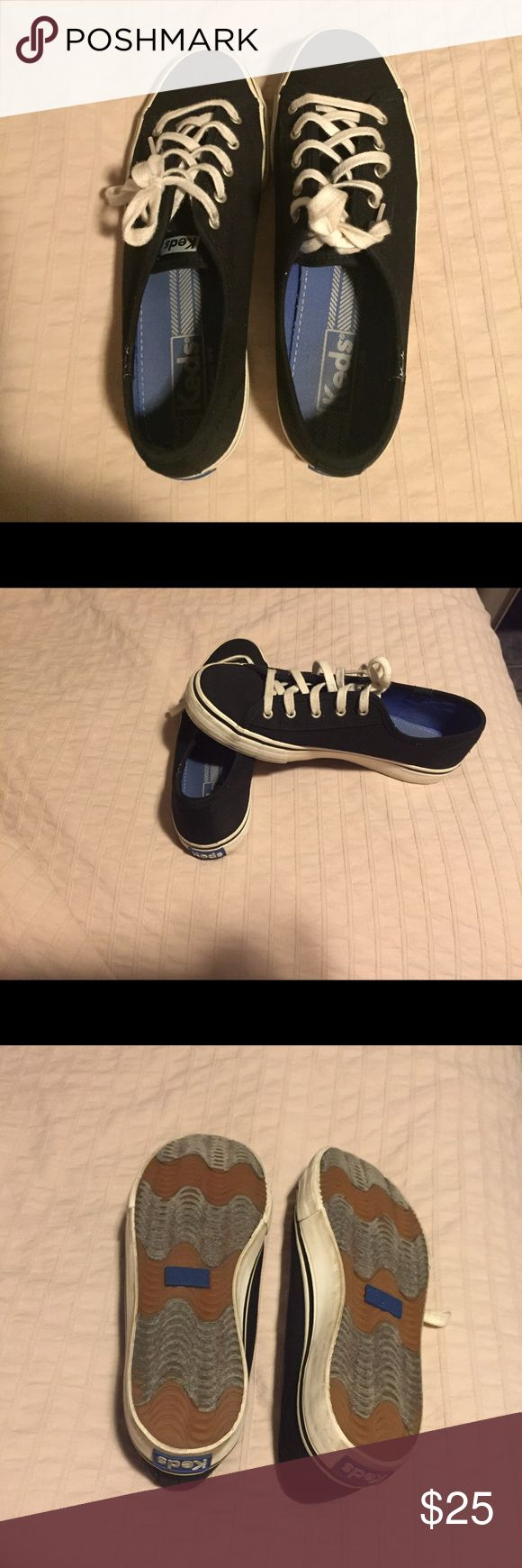 Keds tennis size 7.5 Black tennis shoes good condition Shoes Sneakers
