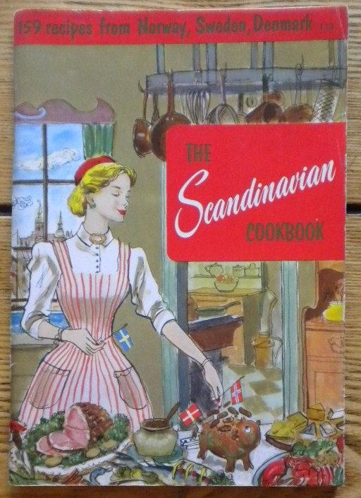 Vintage Cookbook 1956 The Scandinavian by TheTreasuredBarn on Etsy, $9.50