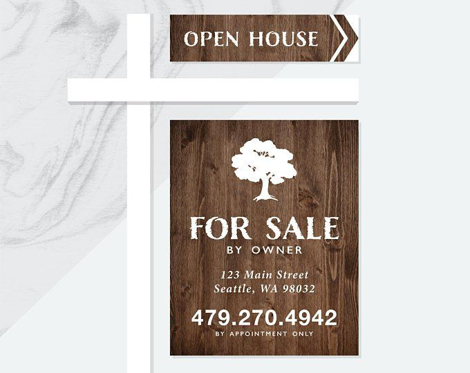 For Sale By Owner Yard Signs Fsbo Signs Open House Signs For Sale By Owner Yard Sign Designs Yard Signs For Sale Sign Sign Design