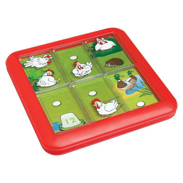 Tojó toló- logikai játék tyúkokkal, tojásokkal (Smart Games) | Pandatanoda.hu Játék webáruház