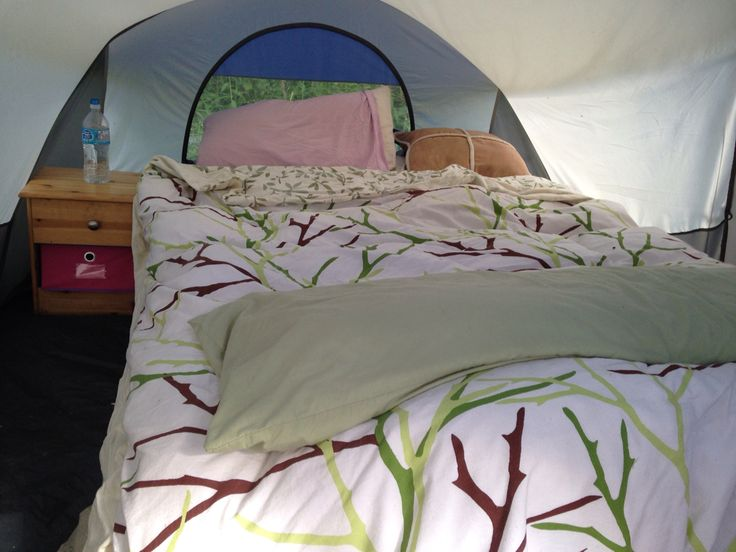 Who said camping in tent had to be uncomfortable!
