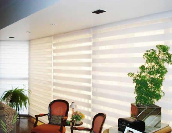 Tipos de cortinas modernas e aconchegantes decora o - Cortinas de casas modernas ...