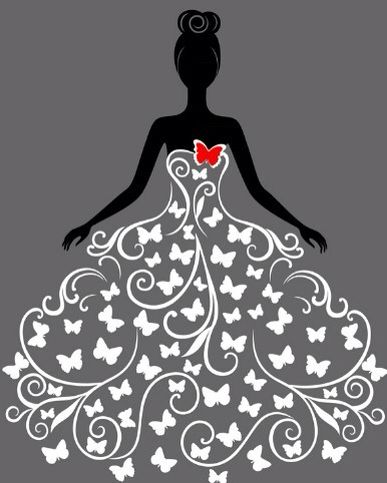 Bridal Butterly dress