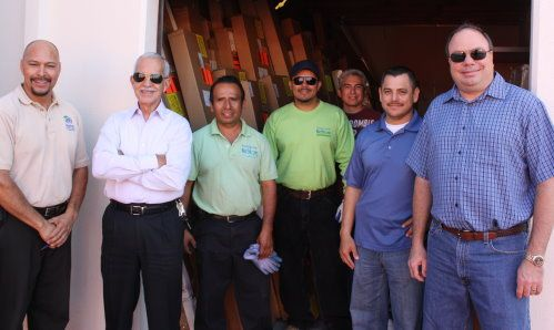 Noe Rivas, Habitat for Humanity, Frank Gutierrez, 3 Day Blinds, Alfanso Palaez and Florencio Mercado, Habitat for Humanity, Alfredo Gonzalez, Diodoro Mercado and Dave Hall, 3 Day Blinds3-day-blinds-habitat-for-humanity-IMG_0504